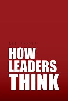 How Leaders Think - book cover