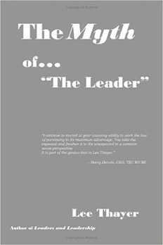 The Myth of the Leader - book art